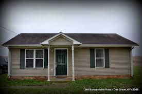 2 bedroom homes sale 249 bumpus mills rd oak grove kentucky 2 bedroom 1 bath