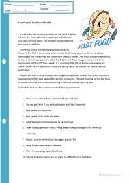thanksgiving reading comprehension worksheets 6 free esl traditional food worksheets