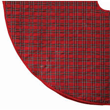 plaid tree skirt 54 inch dundee plaid tree skirt christmas store
