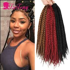 crochet black weave hair best box braids crochet braids hair extensions synthetic box braid