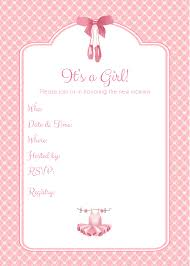 ballerina baby shower invitations create own ballerina baby shower invitations ideas invitations