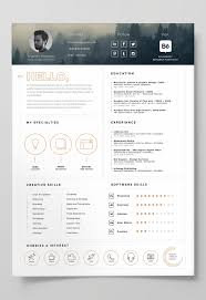 free minimalist resume designs gallery of adobe resume template