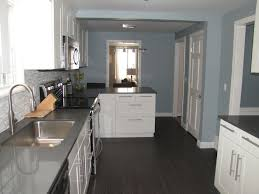 slate blue painted kitchen cabinets slate blue paint color contemporary kitchen benjamin