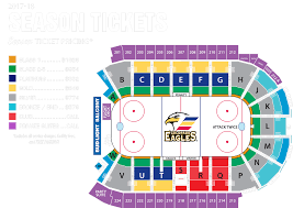 Pepsi Center Seating Map Seating Chart Colorado Eagles