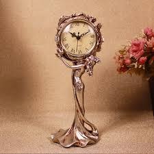 european retro resin ornament crafts ornaments beautiful clock
