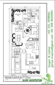 20x45 House Design West Facing