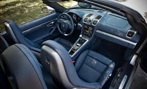 porsche boxster interior yachting blue full leather pictures