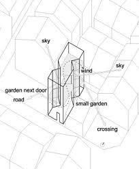 tecno haus crescent house ken shuttleworth planos dibujos