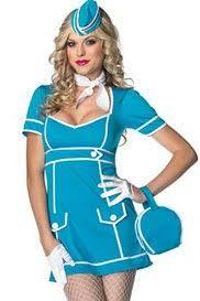Pan Costume Halloween Cute Flight Attendant Dress Halloween Flight Attendant