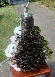 christmas recycled decorations for christmas tree splendi