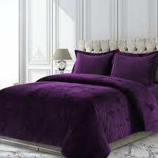 new 23 pc queen royal purple black silver duvet cover set inc 2