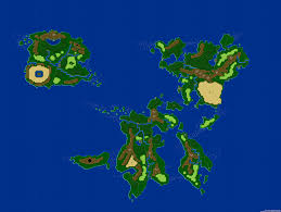 World Map Cartoon by 16 Bit World Map U2014 Dungeons U0026 Data