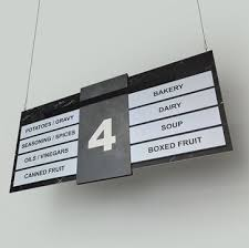 aisle markers 81 best hanging retail aisle signs and markers images on