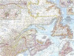 map of east canada eastern canada map