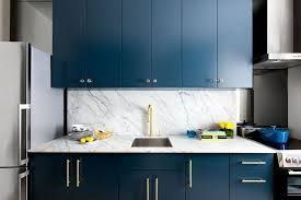 timeless kitchen backsplash kitchen color inspiration 12 shades of blue cabinets contemporist