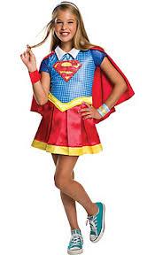 Halloween Costumes Kids Girls Girls Supergirl Costume Dc Super Hero Girls Costumes