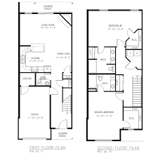 plans townhome plans
