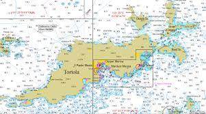 Bvi Map Tortola Bvi
