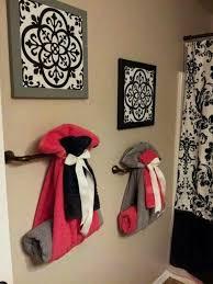 bathroom towel rack decorating ideas enchanting bathroom towel decor 95 bath towel ideas towel