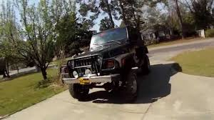 jeep lifted 6 inches rough country 6 inch long arm lift jeep tj youtube