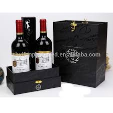 wine bottle gift box wholesale china recycle material gift box wholesale alibaba