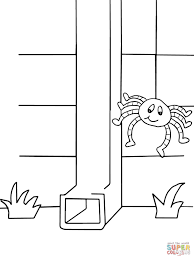 coloring book for nursery itsy bitsy spider coloring page jpg 1200 1600 pre k 2nd