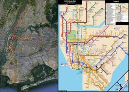Nyc Subway Map Directions by Nyc Subway System Idealized Vs Reality 2126 X 1522 Xpost R