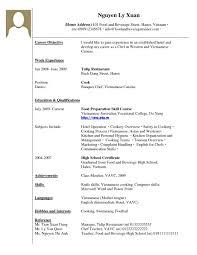 Food And Beverage Resume Template Marketing Job Resume Examples Perfectresume Dentist Job Duties