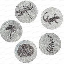 pas japonais en pierre naturelle pas japonais en granit lot de 5 au choix allée chemin gravier