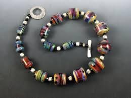 bead necklace bracelet images Custom handmade lampwork bead jewelry for sale in seattle wa jpg