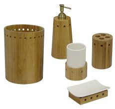 bamboo bath accessory set overstock shopping the best prices on