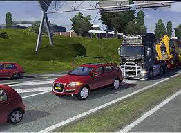 mod car game euro truck simulator 2 audi q7 simulator games mods download