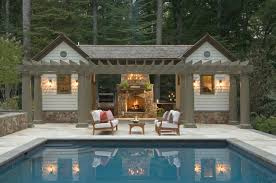 pool house plans free swimming pool pool house designs lovely mix pool house decosee