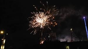 new year s fireworks display winter