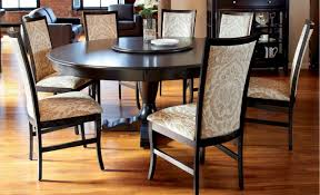 modern round kitchen table and chairs dining room idearming with brown table and home design marvelous
