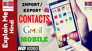 how to import contacts from gmail to android import contacts from gmail to android