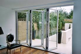 Interior Folding Glass Doors Sliding Folding Glass Doors I46 For Your Simple Home Design