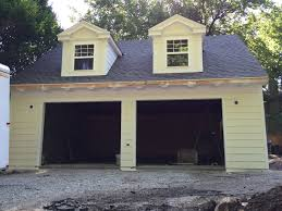 Kansas City Garage Door by Detached Garage With Dormers Kansas City Mo Ad Construction