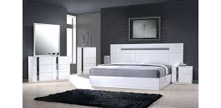 avalon bedroom set 5pc bedroom set modern grey black bedroom set w led light edina 5