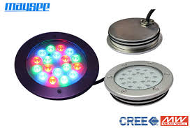 Submersible Pond Lights Rgb Stainless Steel Dmx Underwater Led Pond Lights With Wifi