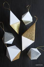 paper geode christmas ornaments lia griffith