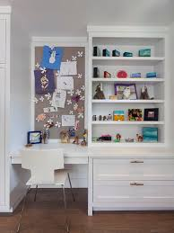 Cute White Desk Decorating Contemporary Kids Bedroom With White Study Desk And