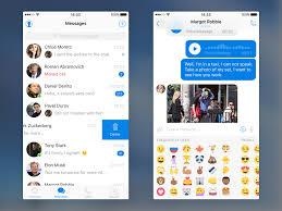 messenger ui kit sketch app free psds u0026 sketch app resources for