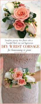 how to make wrist corsages diy wrist corsage for homecoming or prom sand and sisal