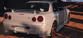 cars nissan skyline nissan skyline gtr r34 gta5 mods com