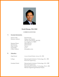 resume format doc ideas collection cv format exle doc resume template cv form