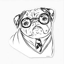 lovely pug coloring page 40 about remodel free coloring kids with