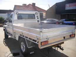 Land Cruiser Aluminium Canopy by Custom Aluminium Tray For Landcruiser 3 Perth Western Australia