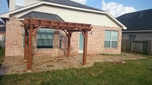 Flagstone Patio With Pergola Flagstone Installation In Houston Texas