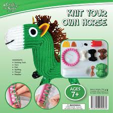 knit your own horse by craft for kids bms wholesale